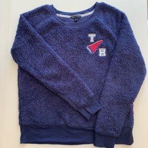 Tommy Hilfiger Sherpa fleece crew neck sweater S